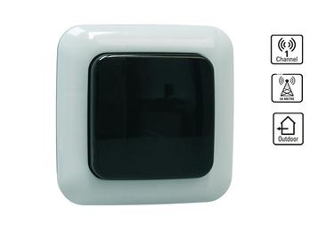 Funk-Außenwandschalter, Lichtschalter für den Außenbereich, direkte Wandmontage