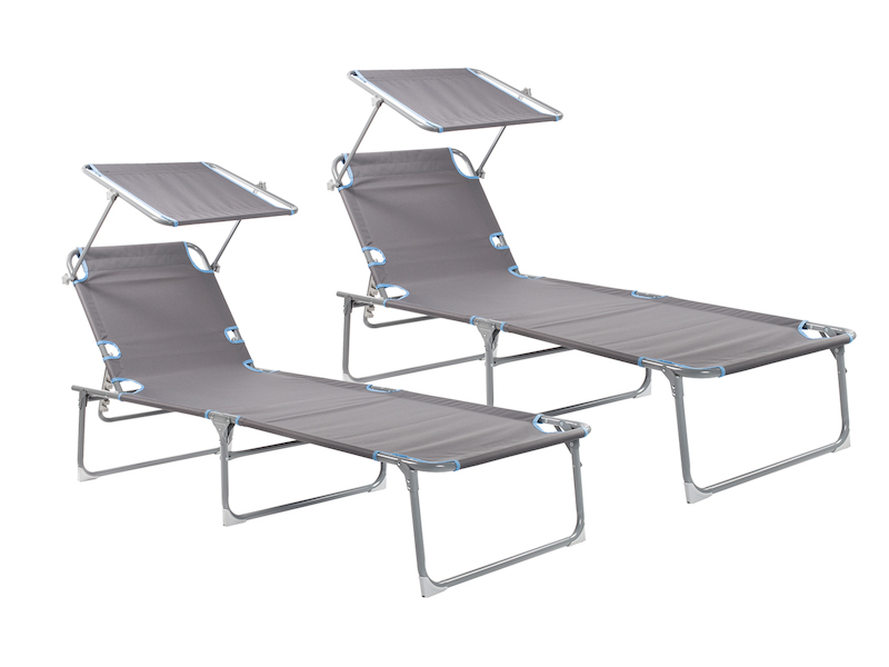 liege mit sonnendach campart travel. Black Bedroom Furniture Sets. Home Design Ideas