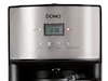 Edelstahl-Kaffeemaschine mit 24-Std. Timer, 1000W, 1,8 Liter, Abschaltautomatik
