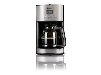 Edelstahl Kaffeemaschine für 14 Tassen mit Permanentfilter & Timer
