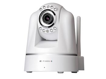 Plug & play Wifi Netzwerk PT Kamera, schwenkbar, IR-Nachtsicht, App, Audio