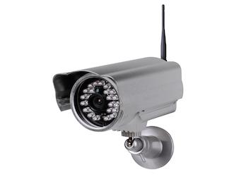 Plug & play Netzwerk-Kamera innen/außen, 20m Nachtsicht, Bewegungssensor, App