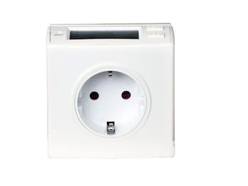 Energieverbrauchsmonitor Plug & Play, inkl. Kinderschutz