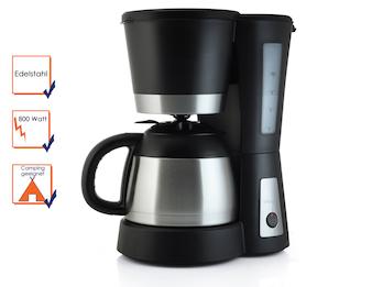 Kaffeemaschine mit Thermoskannen, 1 Liter ca. 8-10 Tassen, 800W
