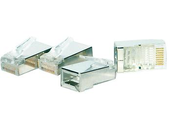 UTP-Netzwerkstecker 4 Stück BNC für Netzwerkkabel 8p/8a