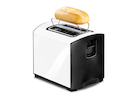 Toaster Arctic White, 950 Watt, 29 x 19 x 20 cm, Auftaufunktion