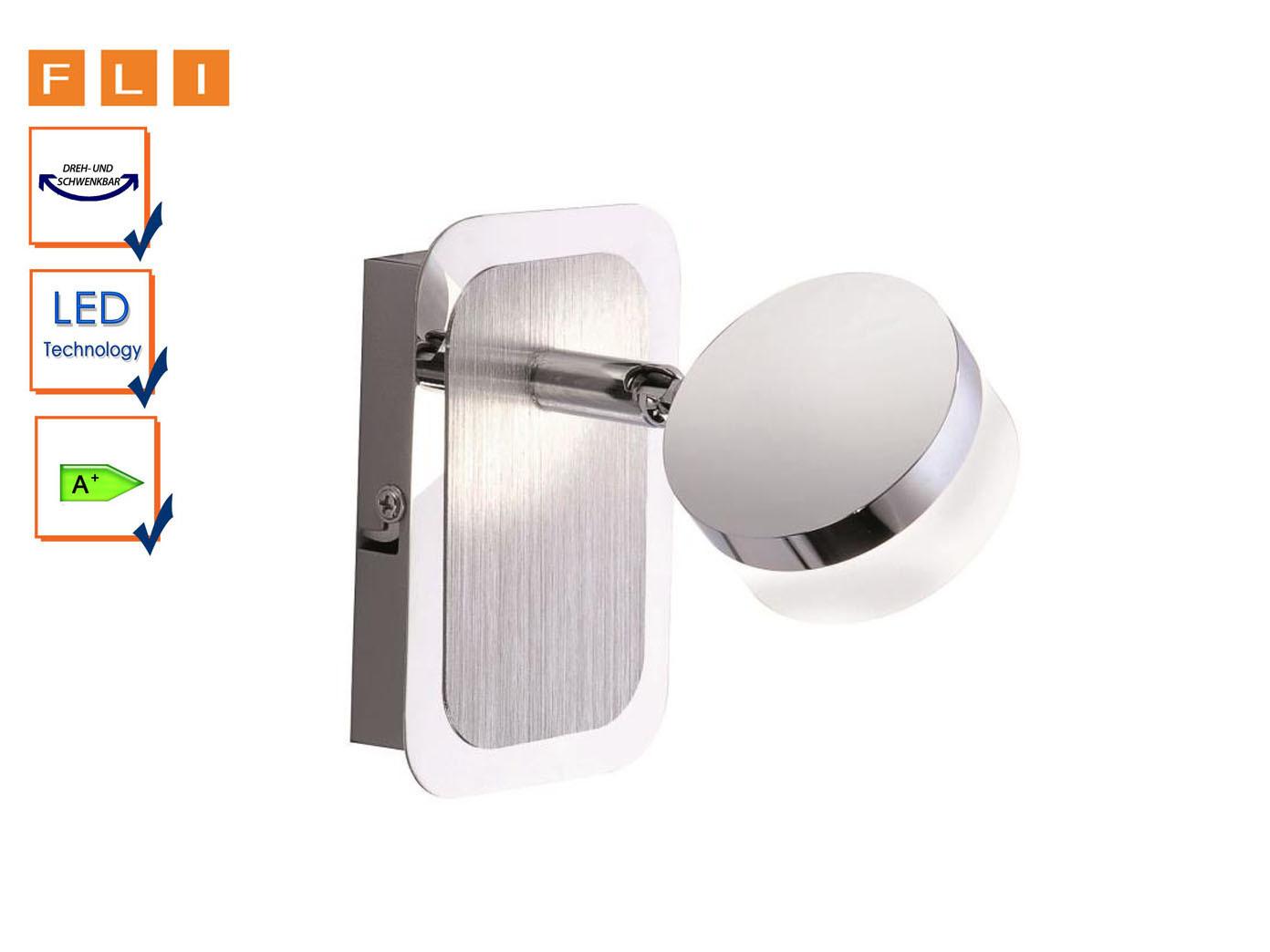 LED-Wandleuchte, Wandspot schwenkbar, Acrylglas satiniert, FLI-Leuchten FLI-Leuchten FLI-Leuchten | Spezielle Funktion  7a3d06