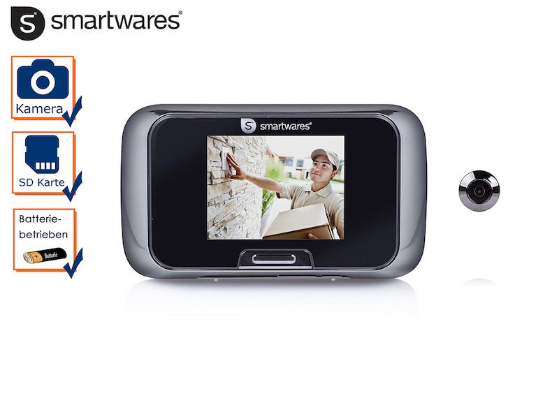 Video Türspion Guckloch für die Haustür Viewer mit Bildschirm und SD-Karte