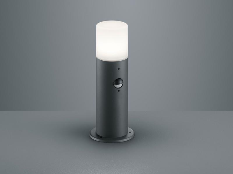 Wegebeleuchtung mit Bewegungsmelder IP44 Sockelleuchte HOOSIC für draußen