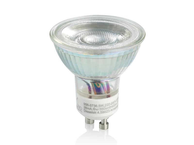 LED Leuchtmittel mit 3 Stufen Switch Dimmer 5W warmweiß Reflektor GU10 Fassung