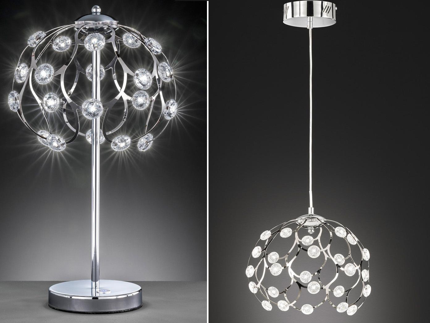 Moderne Hängelampen Tischlampen fürs Esszimmer mit dimmbaren LEDs Flurlampen