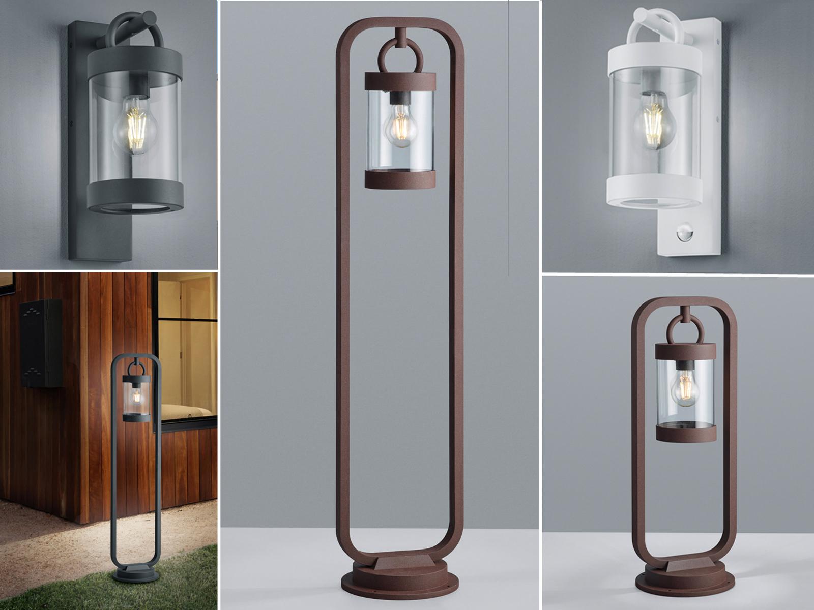 Details zu Außenlampen mit Laterne hängend für Terrrassenleuchten  Außenleuchten stehend