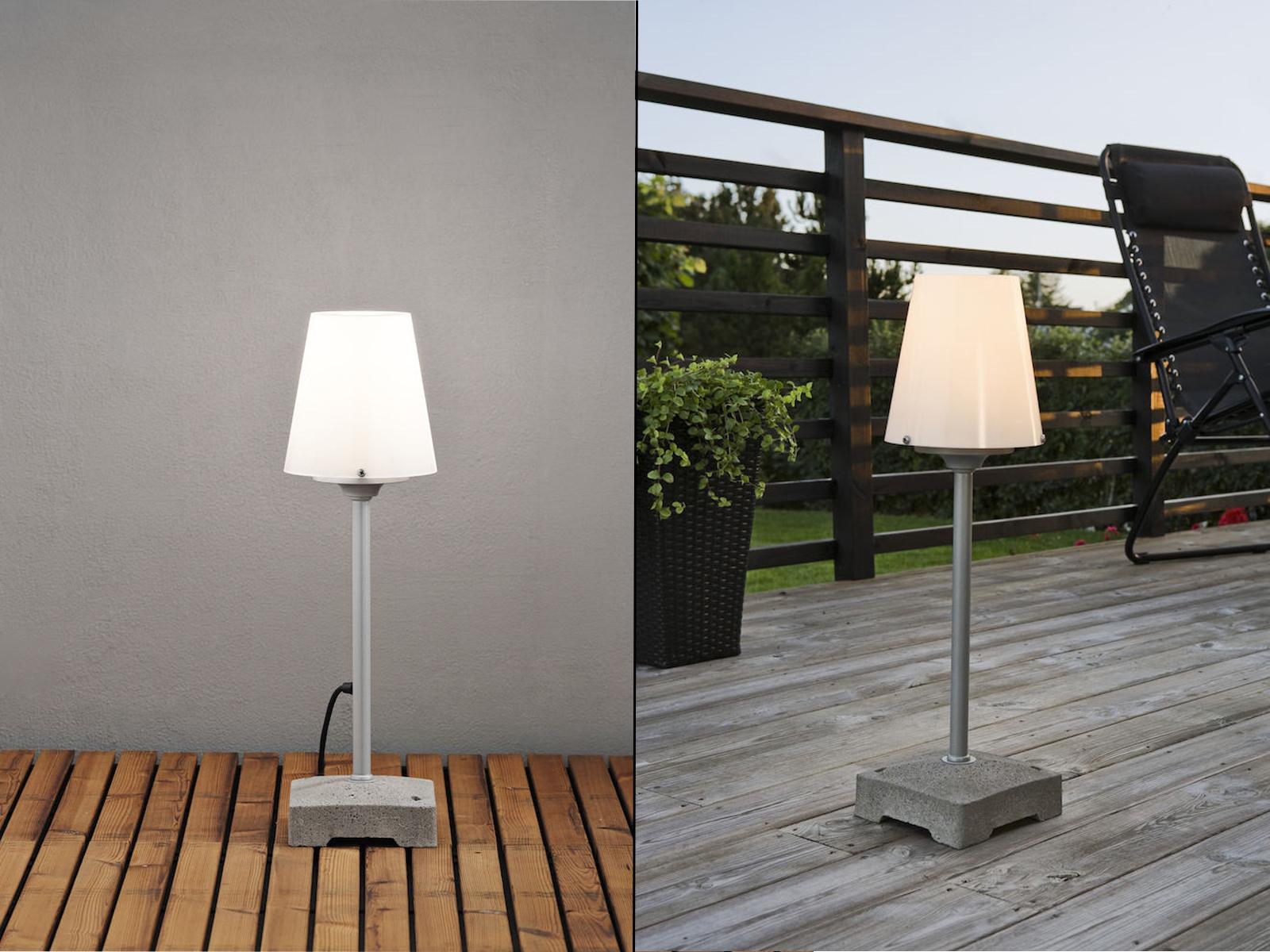 vendita online sconto prezzo basso Bassa bianca Lampada Terrazza Lampada Stand Piantana giardino lampada lampada lampada  fino al 42% di sconto