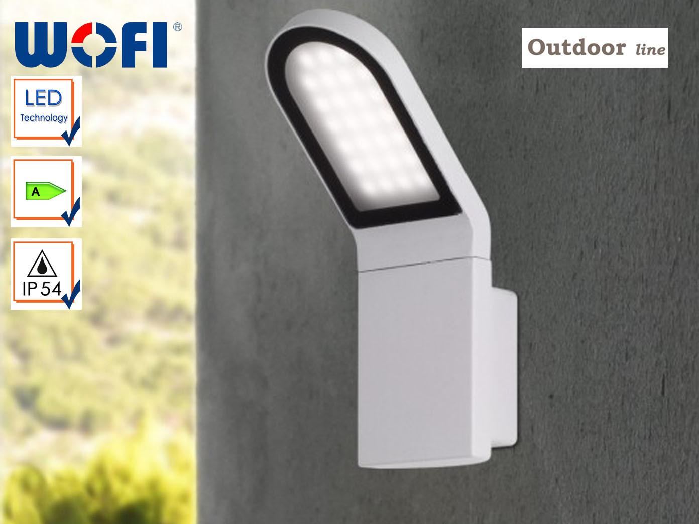Außenleuchte LED   Außenwandleuchte grau, Wofi-Leuchten | | | Outlet Online Store  | Genial  | Verrückte Preis  bc01cf