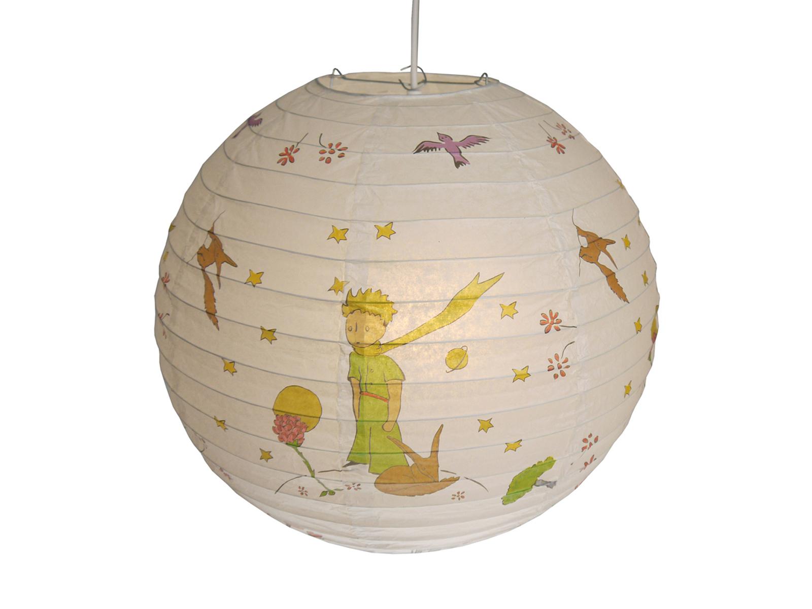 Details zu Papier Lampenschirm mehrfarbig für Kinderzimmer Lampion Kugel  Ballon Lampe