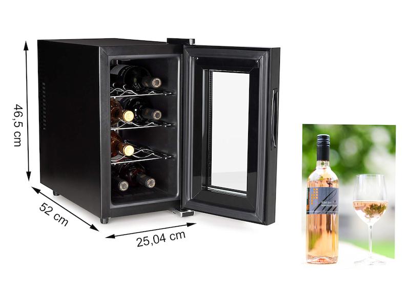 Kleiner Weinkühlschrank : Kleiner weinkühlschrank für flaschen weintemperierschrank