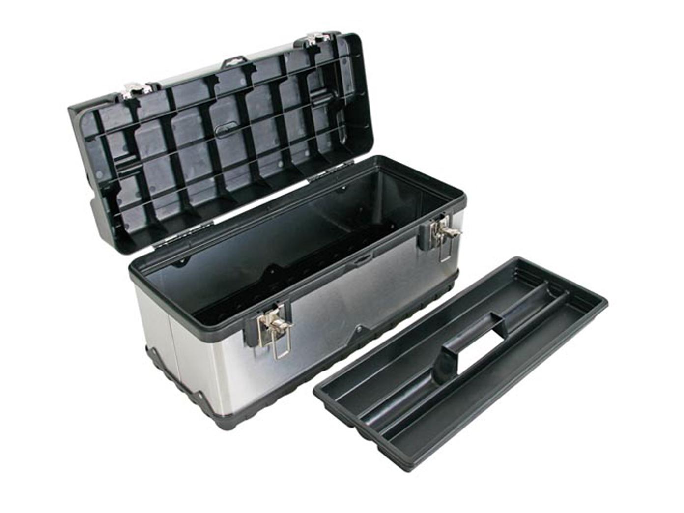 Werkzeugkasten Werkzeugbox Rostfreier Stahl 50 5x23 5x22
