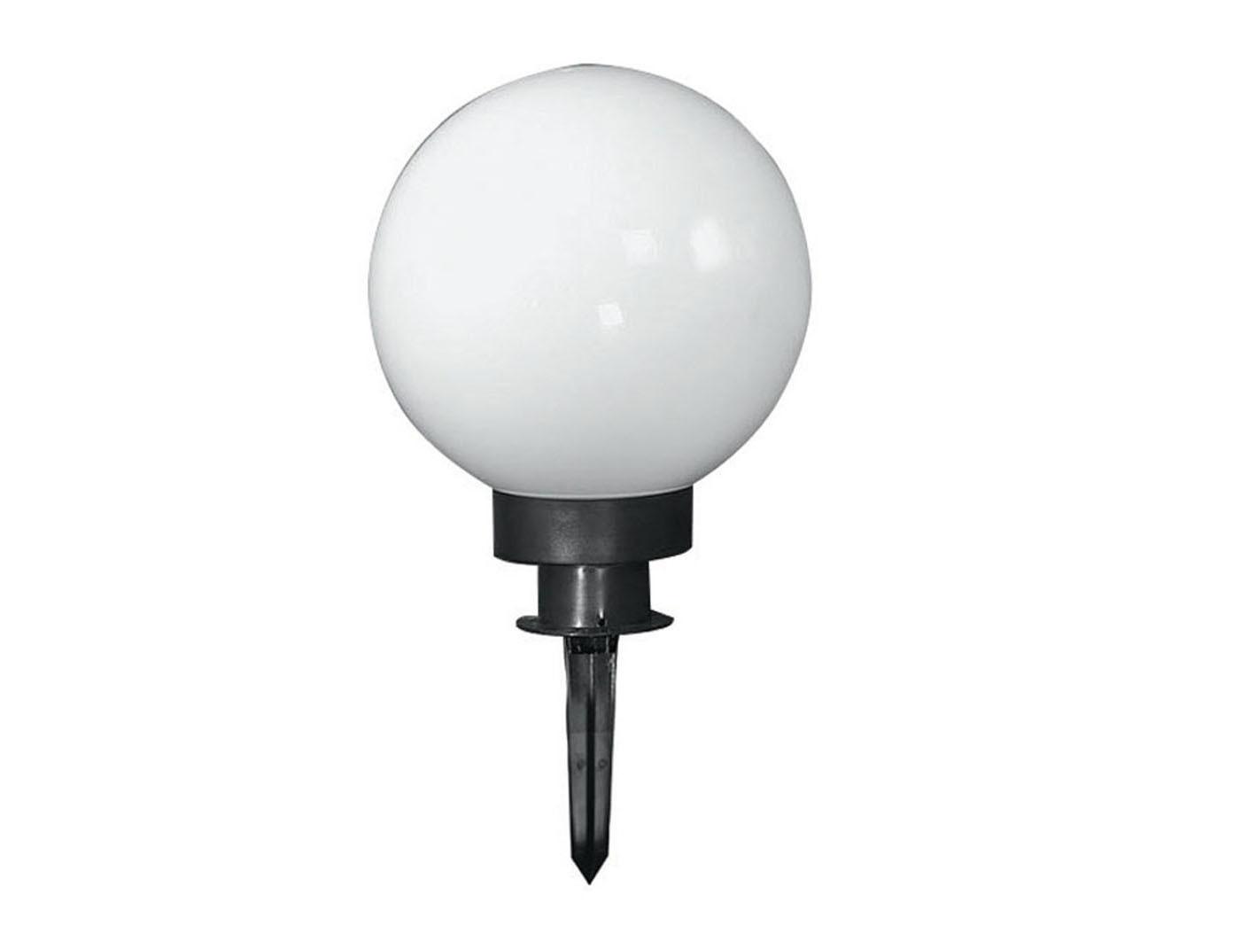 HONSEL Lampada ESTERNO LAMPADA SFERA 45cm con picchetto da Giardino a sfera illuminazione esterna