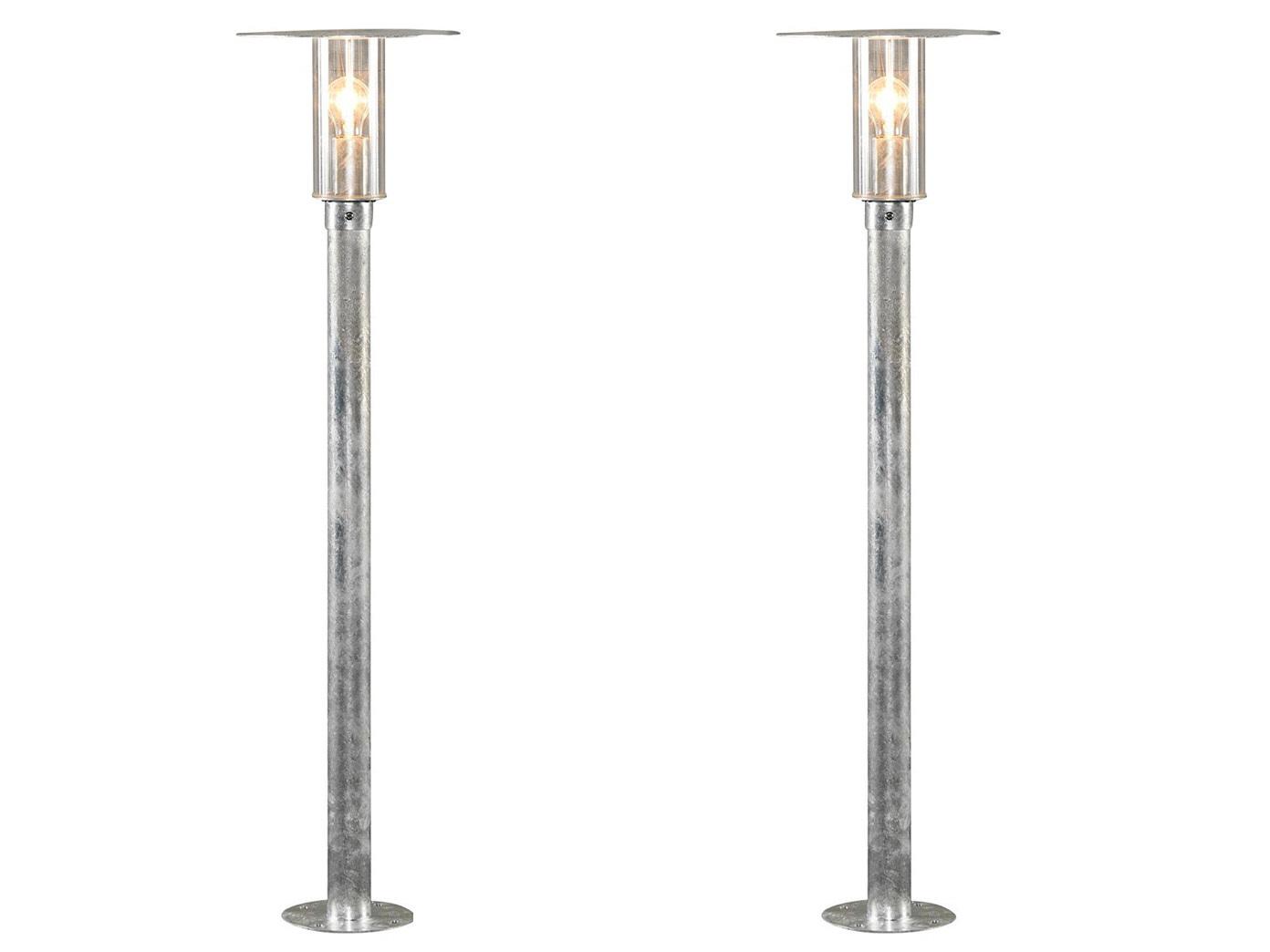 2er Set Konstsmide Lampada Esterno Lampada vie moda, infrangibile, LAMPADA ESTERNO
