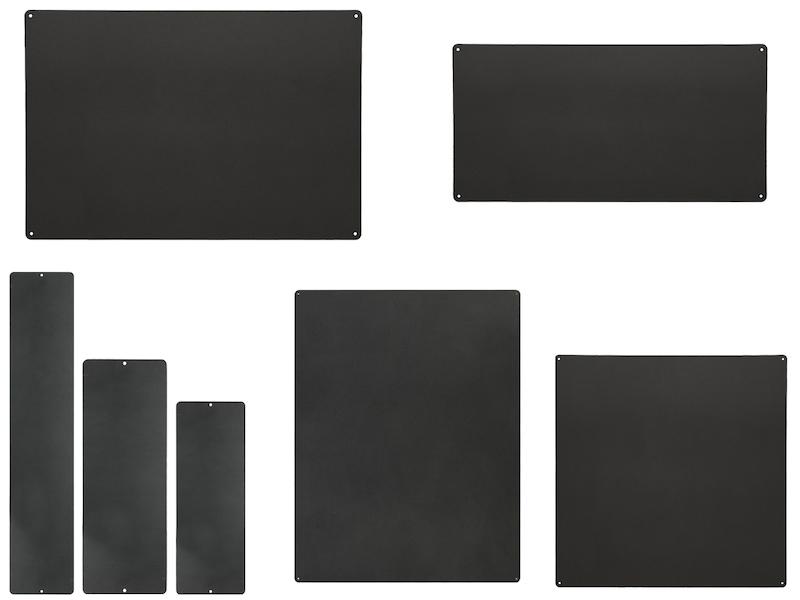 Wandaufbewahrung Dekoration Memoboard Magnettafel Metall 9 x 24 cm KalaMitica