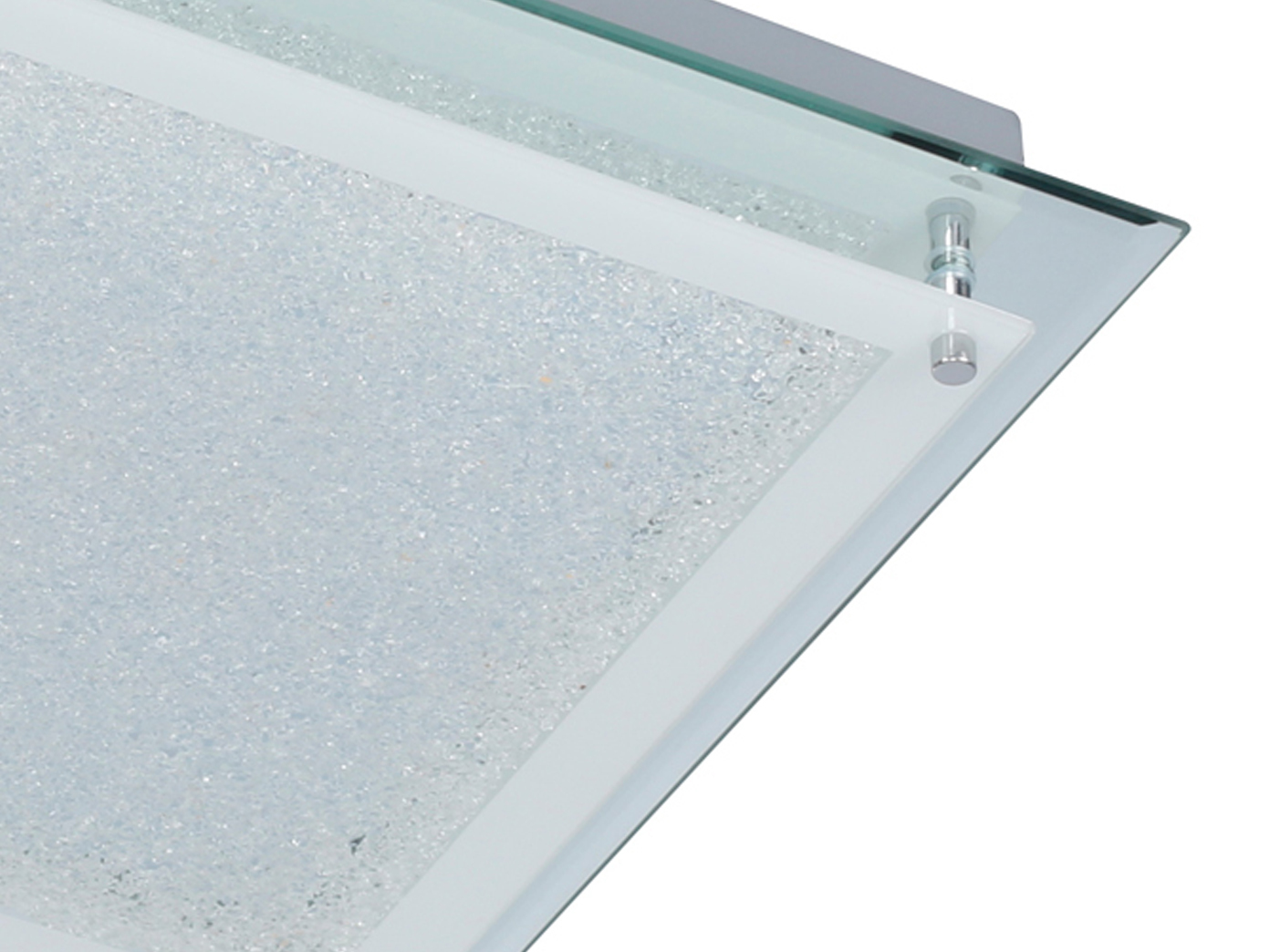 Plafoniera Led Quadrata 30x30 : Led lampada da soffitto mora cm
