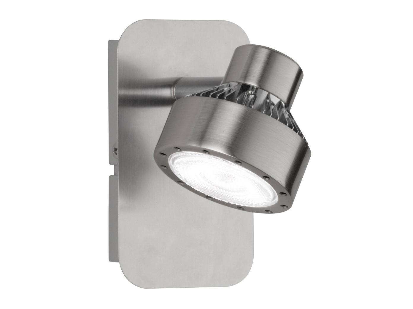 Wandspot LED Spot Wandleuchte 2er Set LED Wandlampe SCARLETT mit Schalter