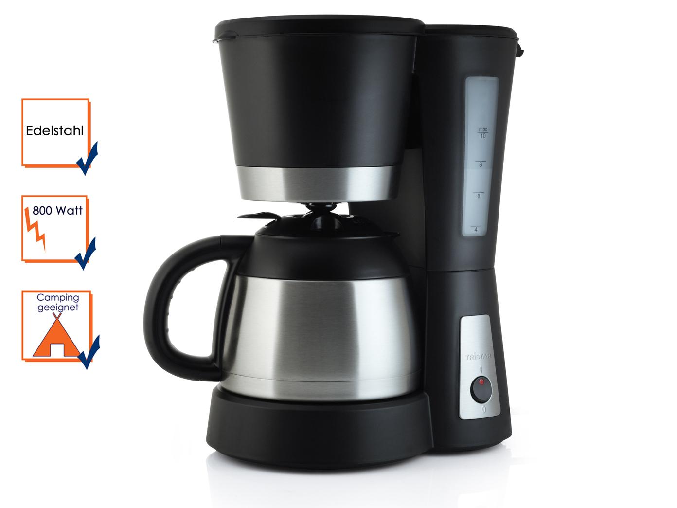kaffeemaschine mit thermoskanne 1liter 800 watt. Black Bedroom Furniture Sets. Home Design Ideas